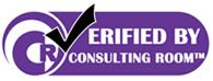 Accredited consulting room logo